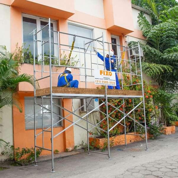 Empresa de aluguel de andaimes
