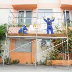 Aluguel de andaimes para construção civil