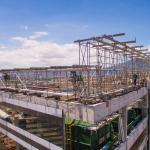 Estruturas para instalação de vidros